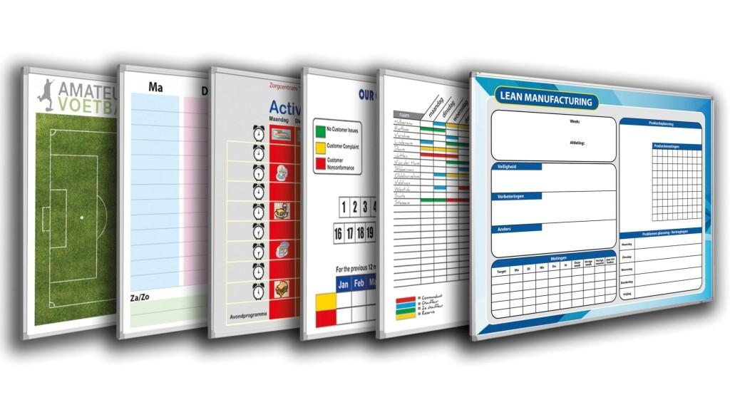 Specifikace a požadavky tabulí s vlastním potiskem