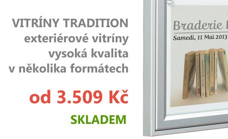 Exteriérové vitríny Tradition