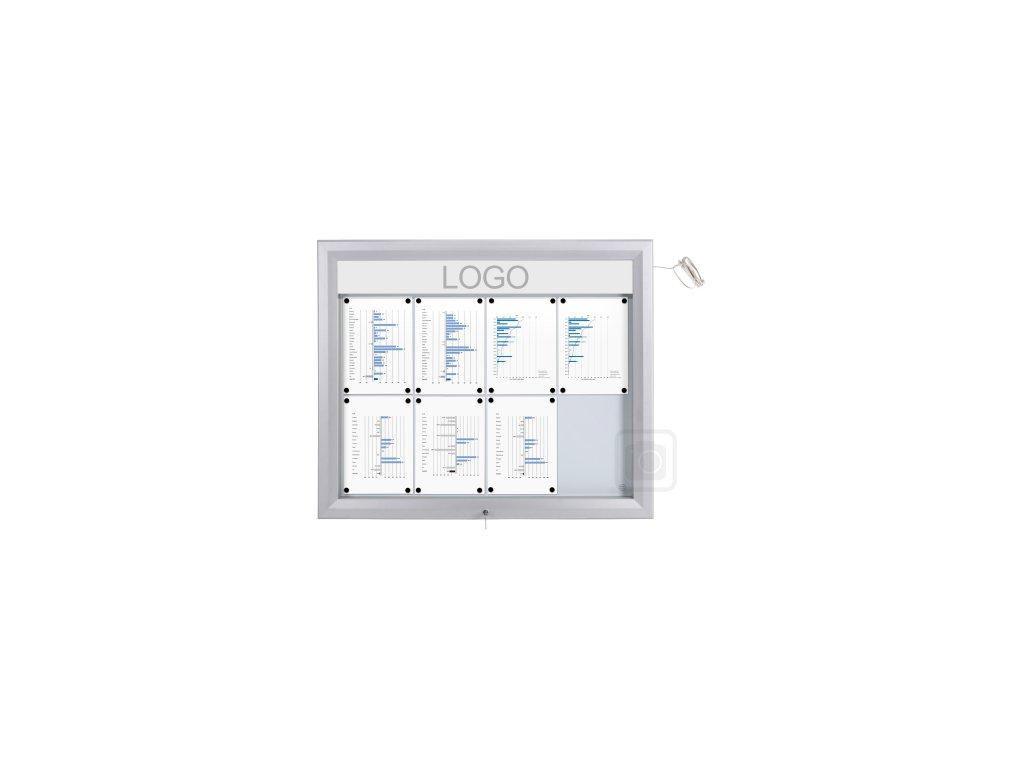 Venkovní LED vitrína SCT