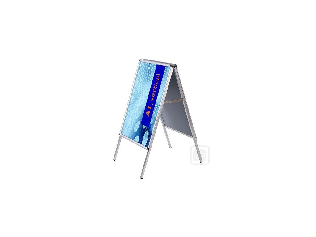 Interiérový poutač Standard - oblý roh