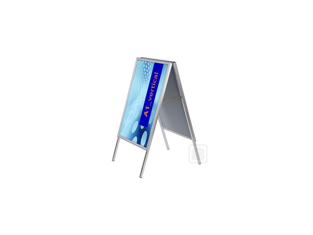 Interiérový poutač Standard - ostrý roh