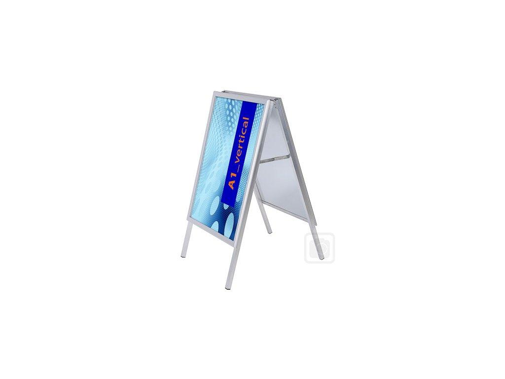 Reklamní poutač 32 mm - ostrý roh