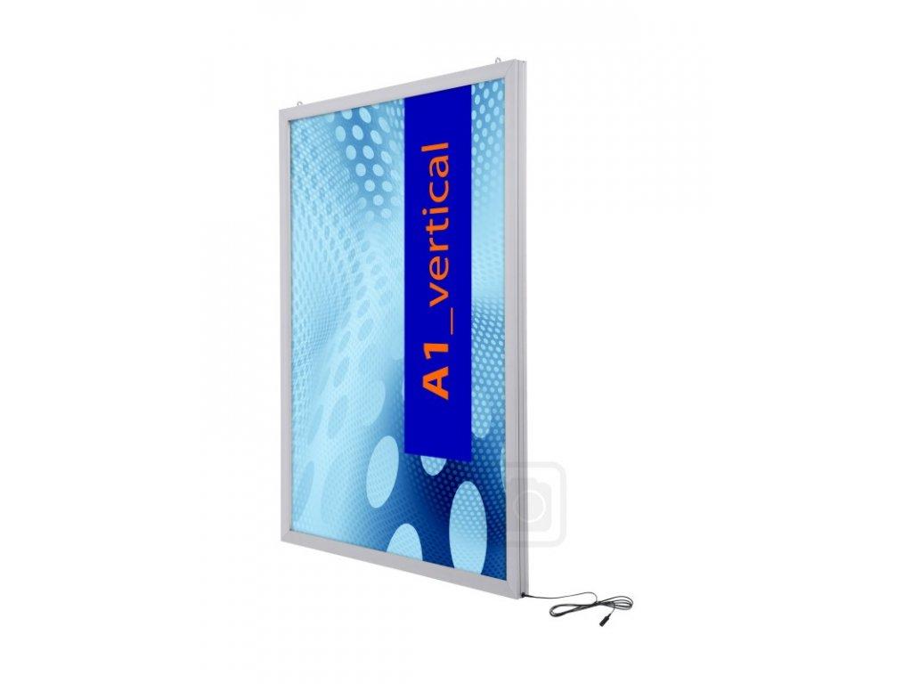Oboustranný LED světelný panel