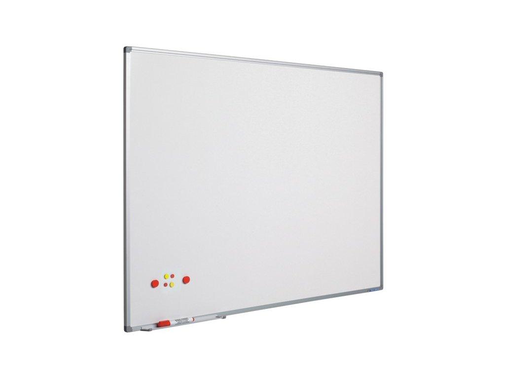 Magnetická tabule Softline - 100×100 cm - bílá, lakovaná