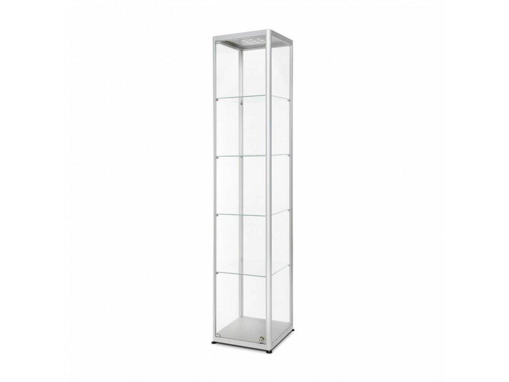 Skleněná prodejní vitrína - VR2-400 LED