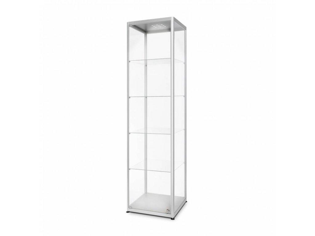 Skleněná prodejní vitrína - VR2-500 LED