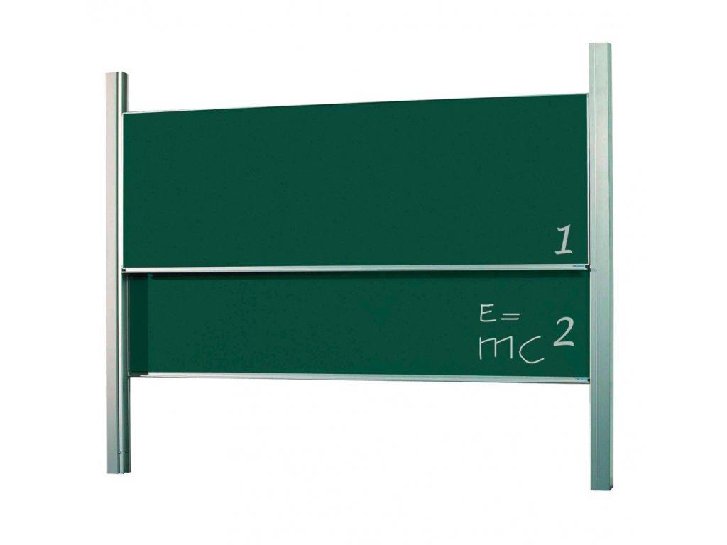 Pylonová tabule, dvojdílná