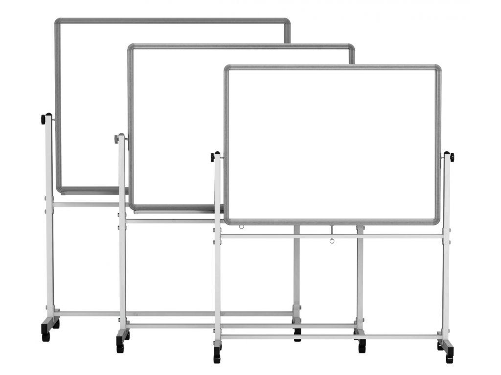 Otočná tabule EMY - lakovaná, bílá