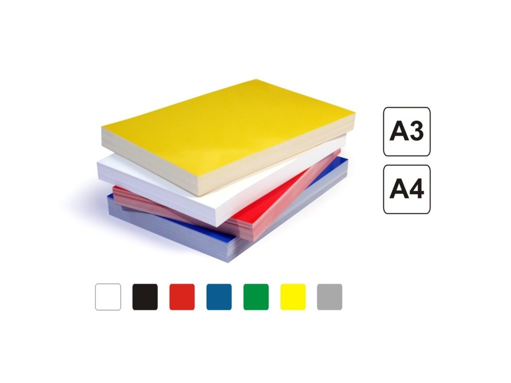 Obálky Chromolux - barvy