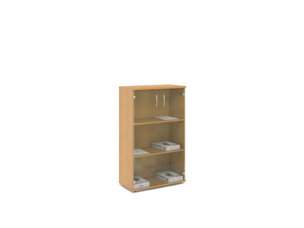 Skříň Express, sklo - 74×37,2×119,6 cm