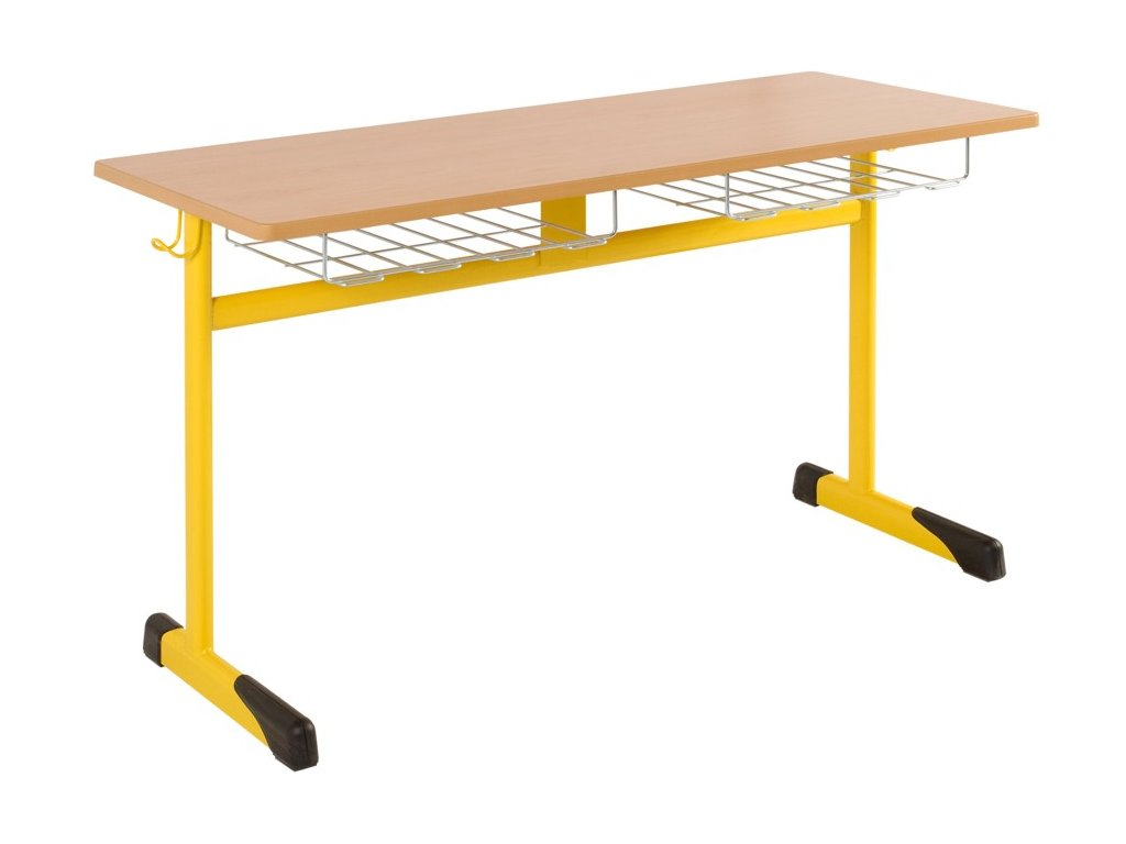 Školní lavice dvoumístná DL 41
