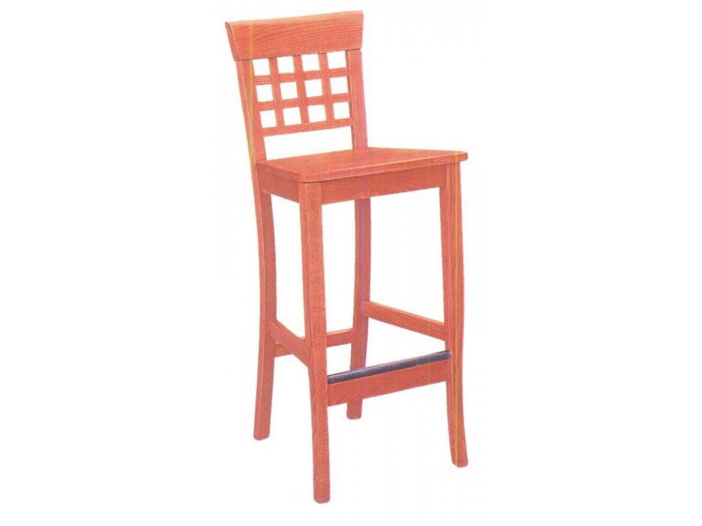 Barová židle BZ dřevěná
