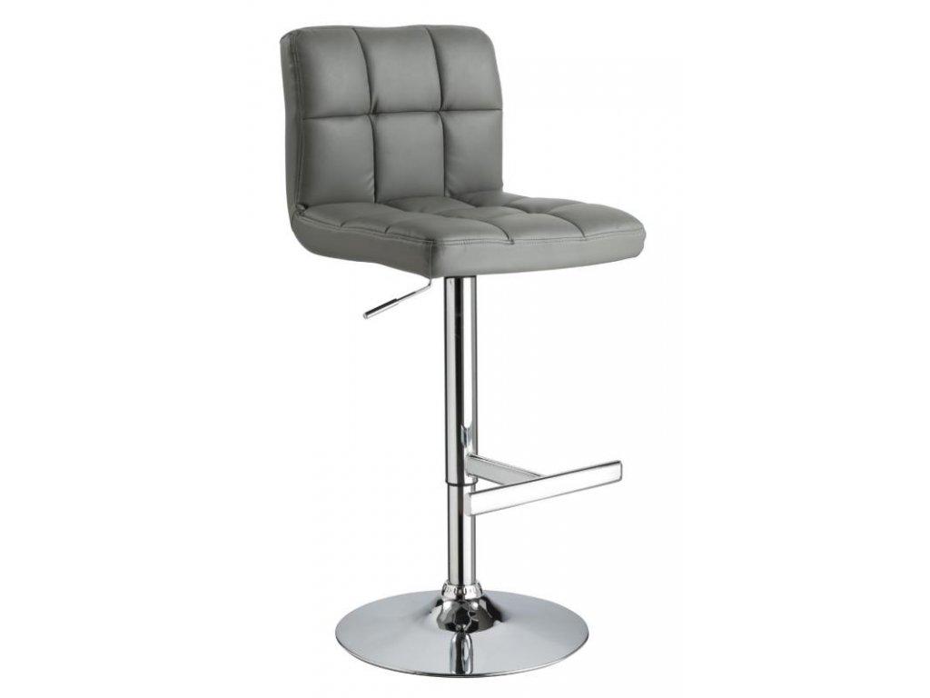 Barová židle C105 - šedá
