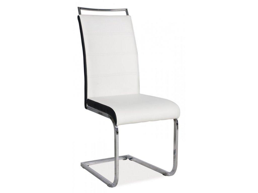 Jídelní židle H441 - bíločerná