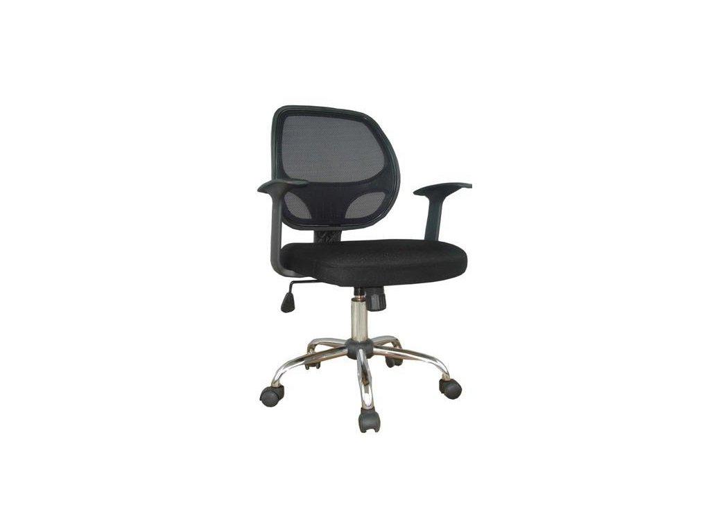 Kancelářská židle W 118 - černá