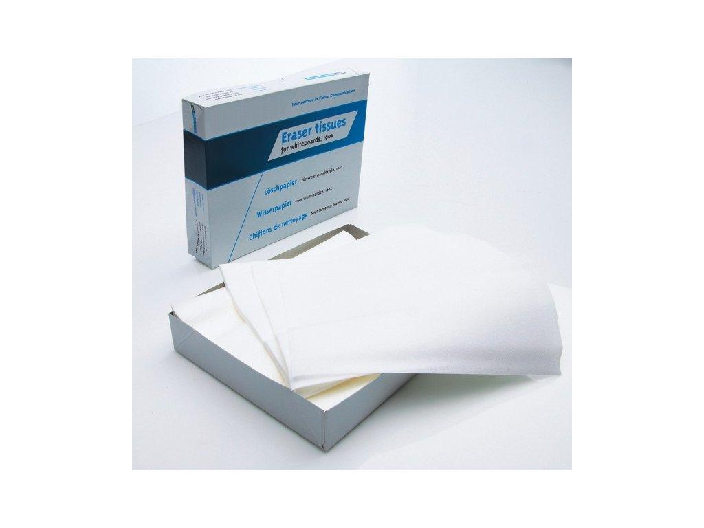 Náhradní papírové hadříky, sada 100 ks
