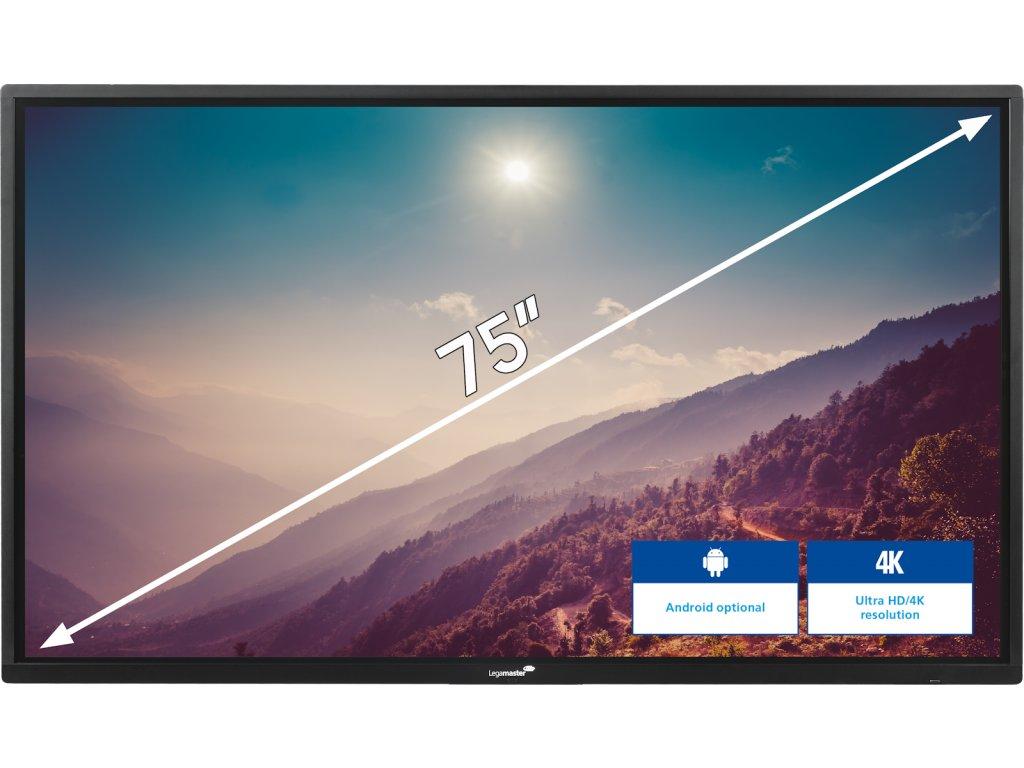 Interaktivní dotykový LCD displej 75 palců