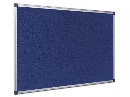 Filcová nástěnka BQ Economy - modrá
