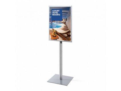 Informační stojan Info Pole - jednostranný