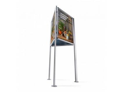 Informační stojan Triboard