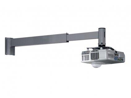 Nástěnný držák projektorů s krátkou projekční vzdáleností