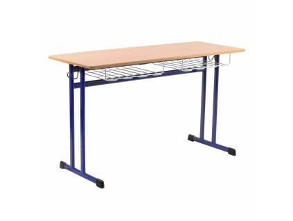 Školní lavice dvoumístná DL 21