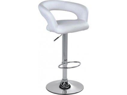 Barová židle 2-26 - bílá