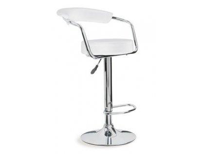 Barová židle 2-31 - bílá