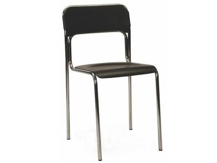 Plastová židle Askona - černá