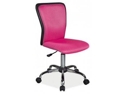 Dětská židle Q099 - růžová