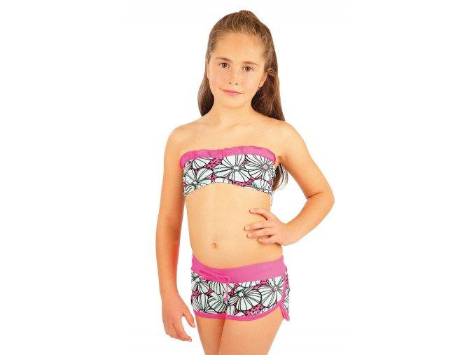Litex 88448 Dívčí plavková podprsenka bandeau bez výztuže