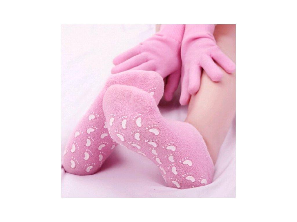 Zdravotní gelové ponožky