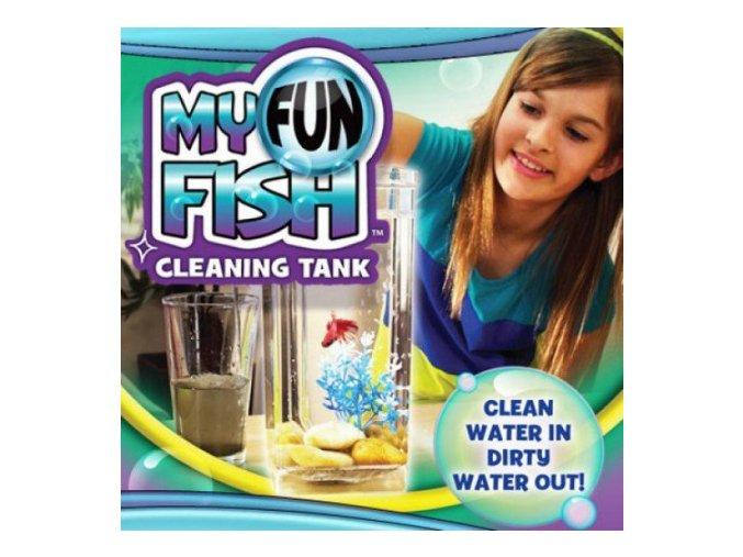 samocistici akvarium my fun fish