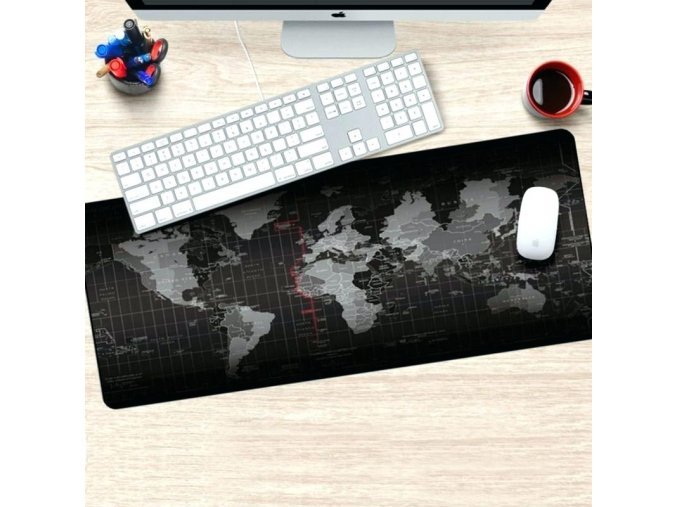 rubber desk mat desks printed office pad large size mats useful world map cloth extended gaming mouse extra larg
