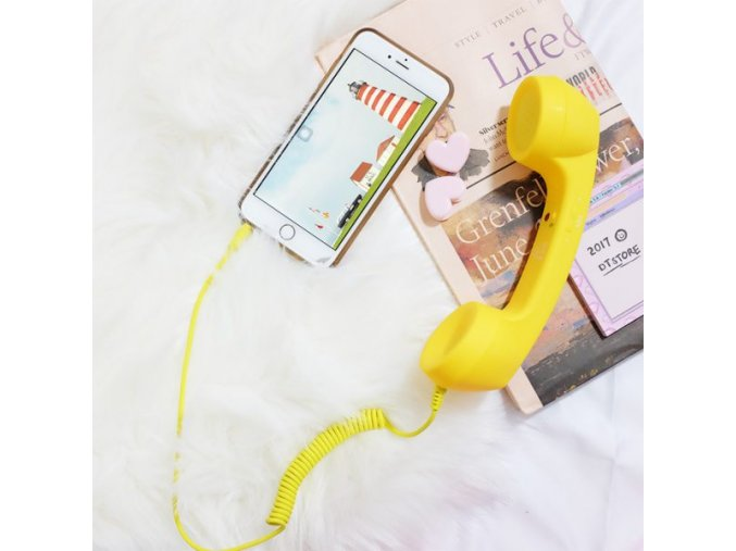 Retro sluchátko na mobil Coco Phone