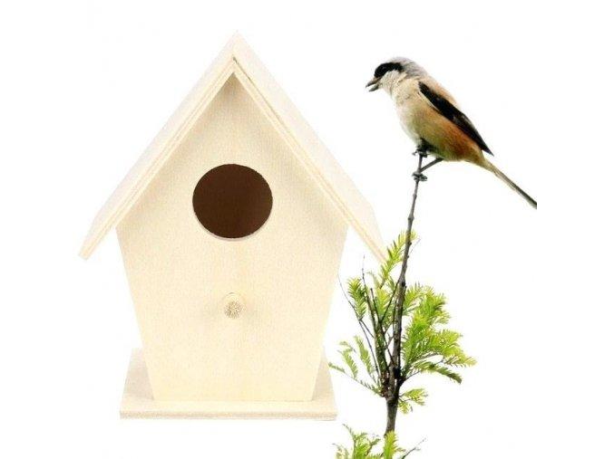 Vybarvovací ptačí budka