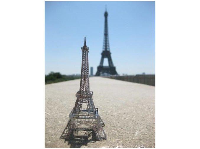 Kovové 3D puzzle Eiffelova věž