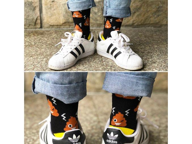 kakánek ponozky hovinko kakanek bobek poop socks kvalitni panske damske ponozky velikost 38 39 40 41 42 43 44 45 vanocni darek pro brachu kolegu segru