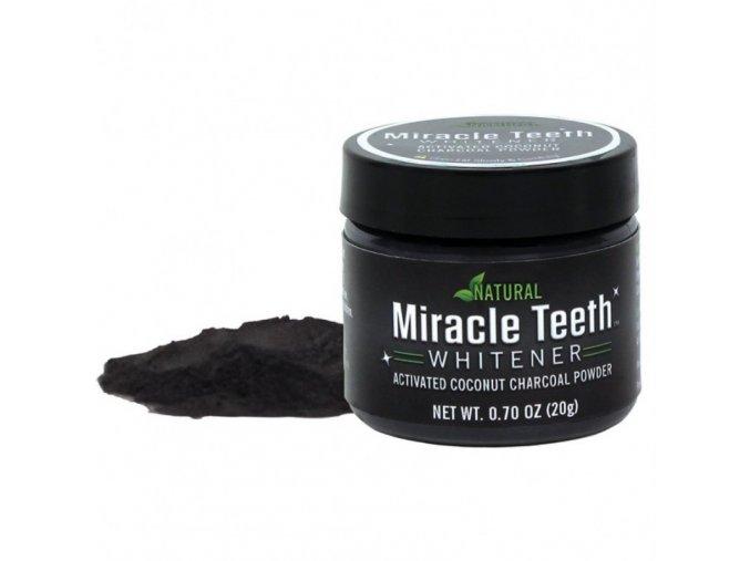 uhli na beleni zubu kokosove miracle teeth levne prasek na vybileni cisteni zubu cerny