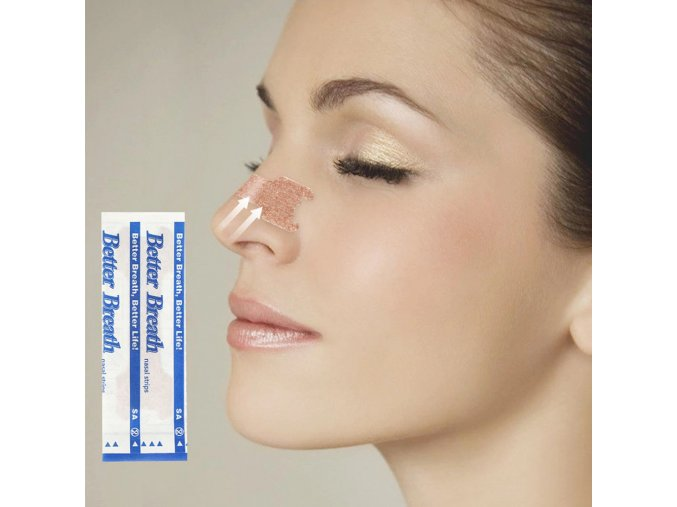 50 Pcs Better Breath Nasal Strips Right Way To Stop Snoring Anti Snoring Strips Easier Better