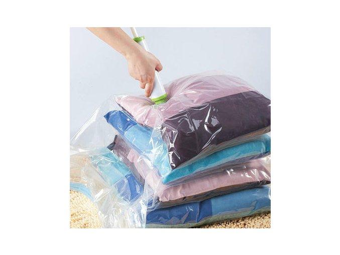 vakuovy pytel vacuum bag vakuum sacek na obleceni lozni pradlo do skrine