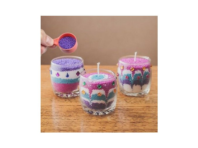 Candle Making Kit creative design wax kids