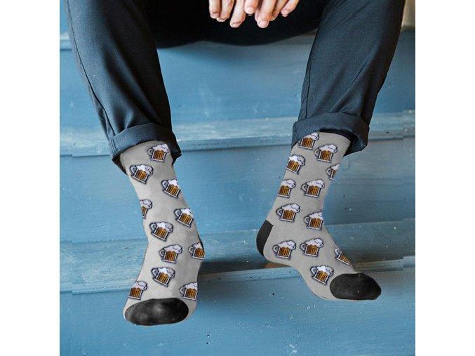 veselé ponožky beer pivní pivo