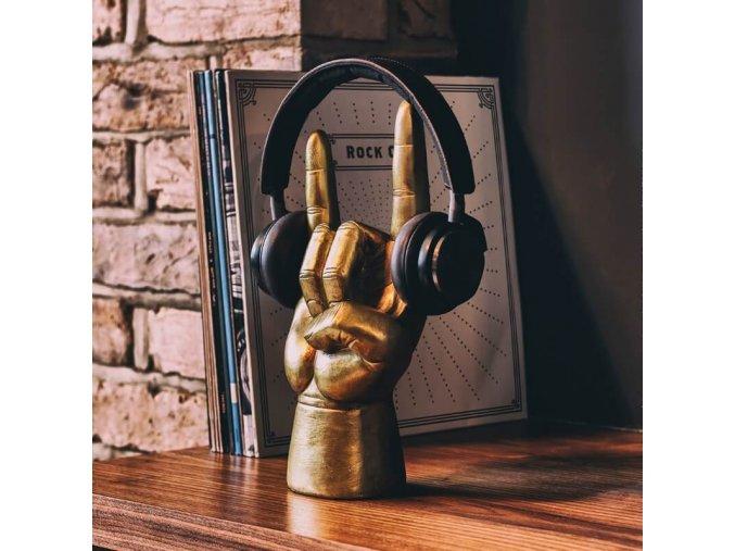 stojan na sluchatka luckies rock on darek hudba music stand  headphone