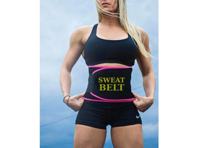 swat belt2 pas na hubnuti cvicenu neopren neoprenovy korzet sweat belt cviceni korektor
