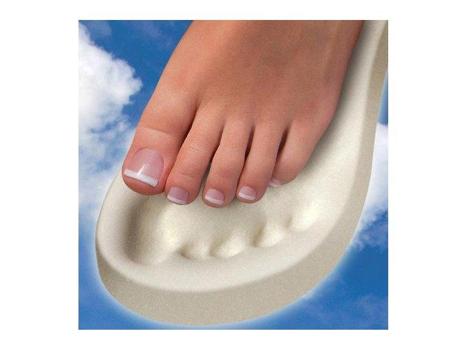 Feet On Memory Foam