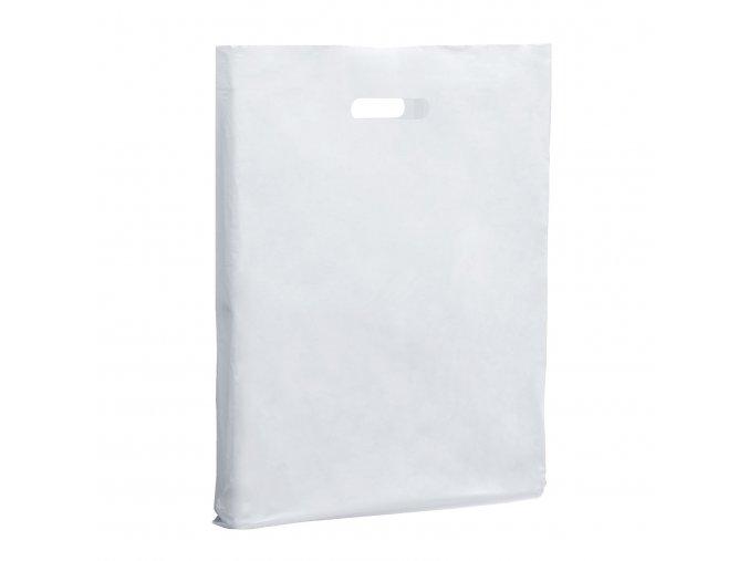 white plastic carrier bag 403 p