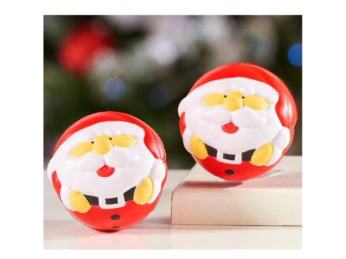 santa claus antistresová hračka koule proti stresu Bez santa