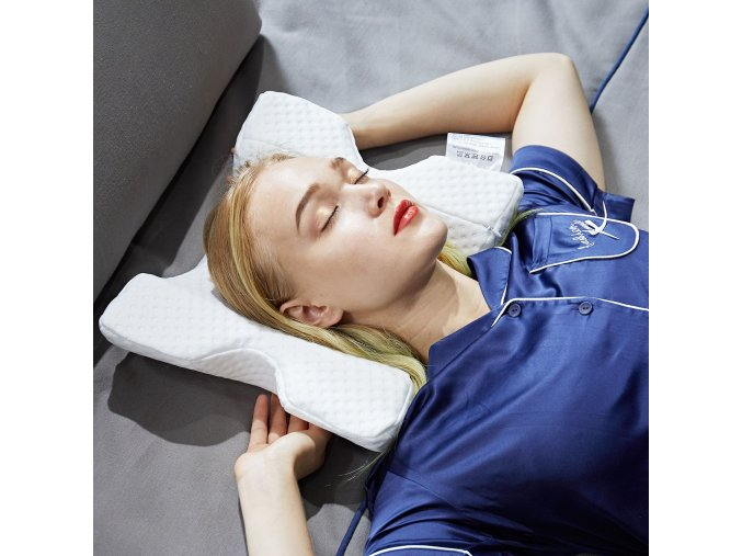 ergonomický tvarovaný speciální ortopedický polštář na ruku pod hlavu přeležená ruka speciální polštářek peřina správné držení těla zdravý a kvalitní spánek 398447 f3v7ta 4ab5d59b4a87ce23ccd226882ae02f62