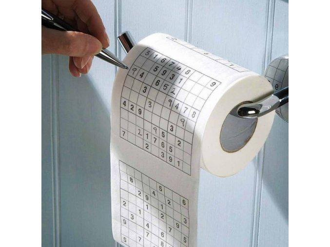 toaletni papir se sudoku krizovky vtipny toaletak sudoku toilet roll